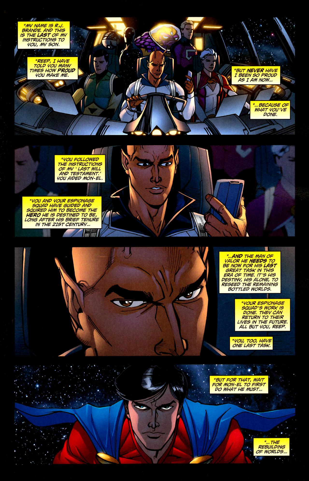 Read online Adventure Comics (2009) comic -  Issue #11 - 11