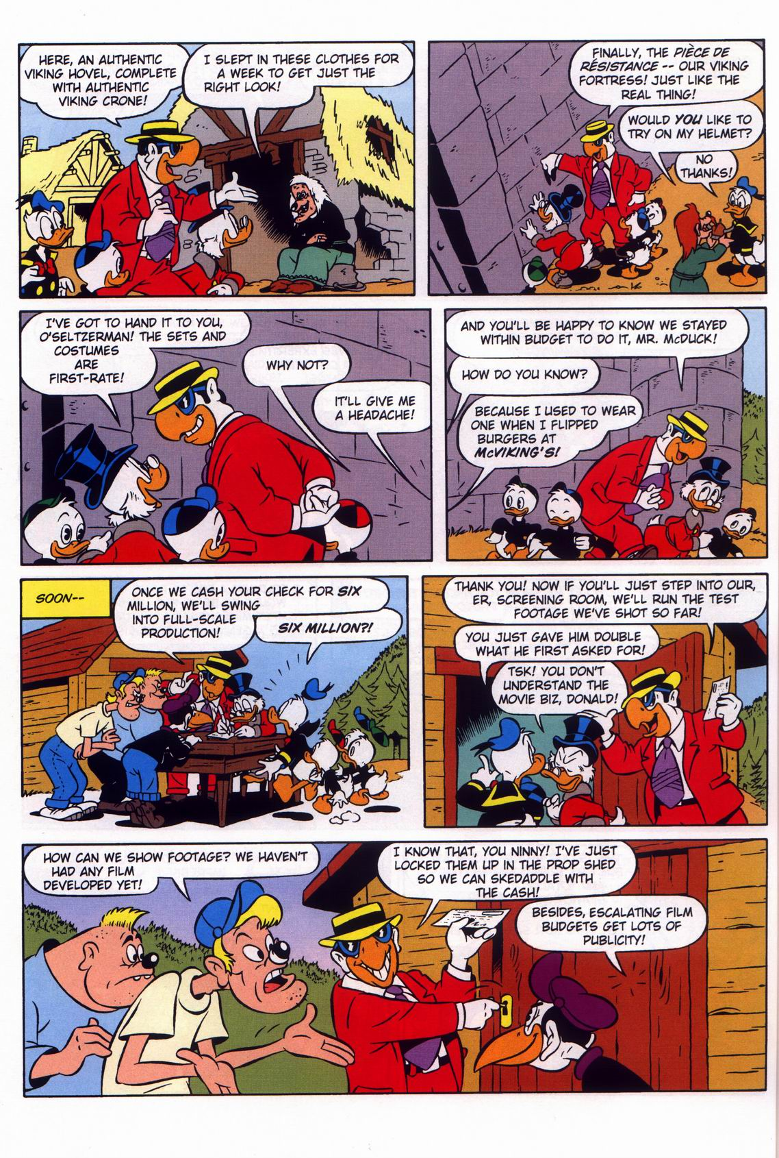 Read online Uncle Scrooge (1953) comic -  Issue #316 - 42