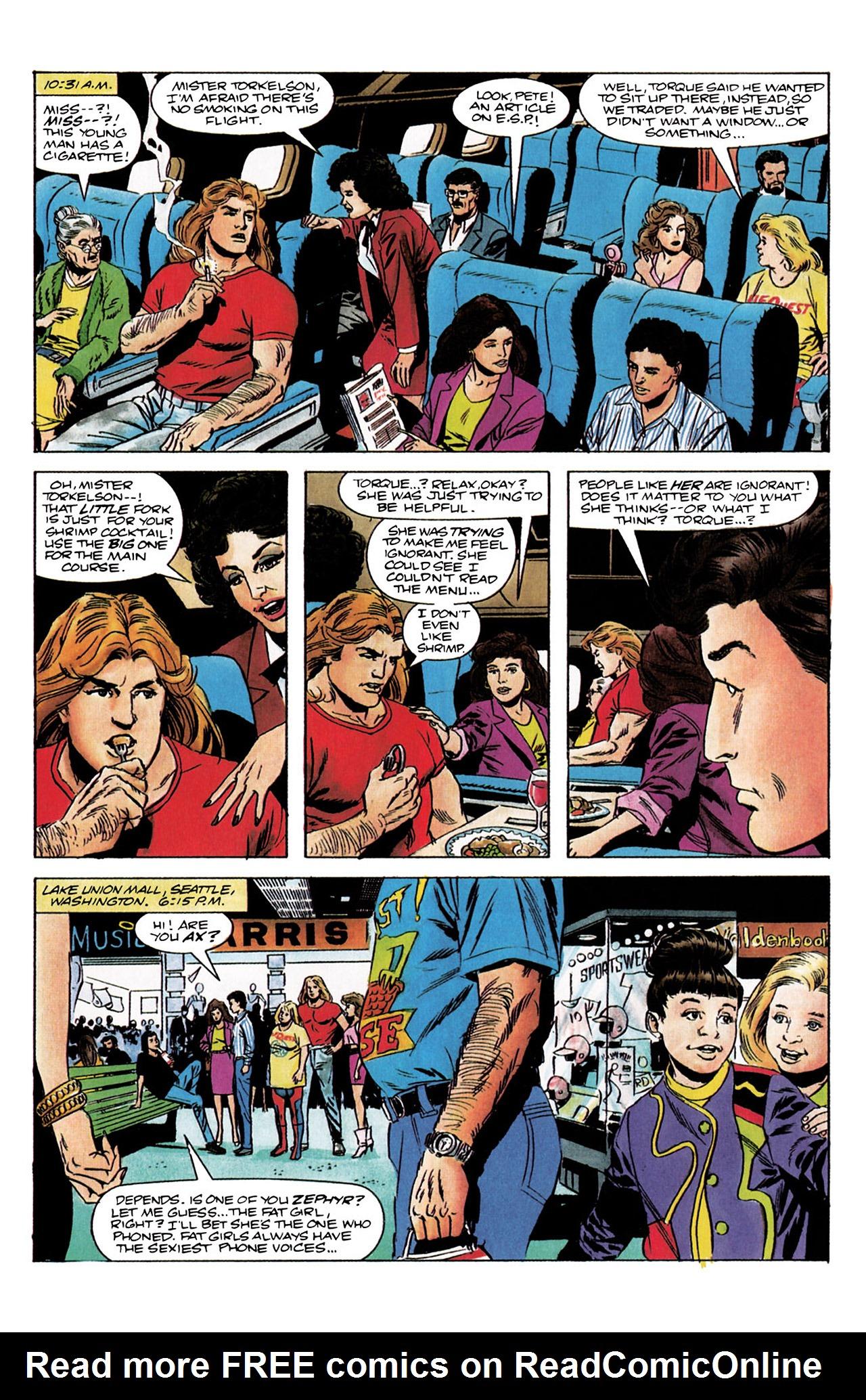 Read online Harbinger (1992) comic -  Issue #3 - 5