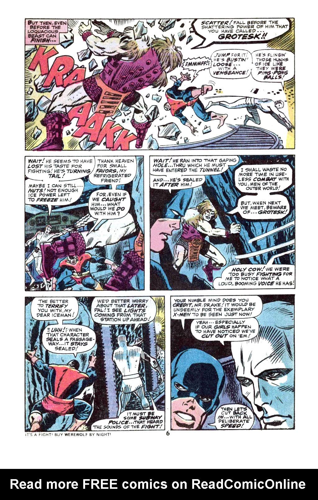 Uncanny X-Men (1963) 89 Page 4