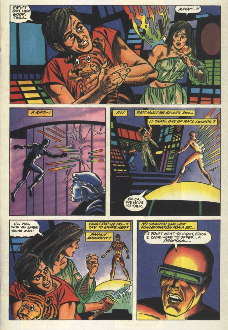 Read online Solar, Man of the Atom comic -  Issue #13 - 14