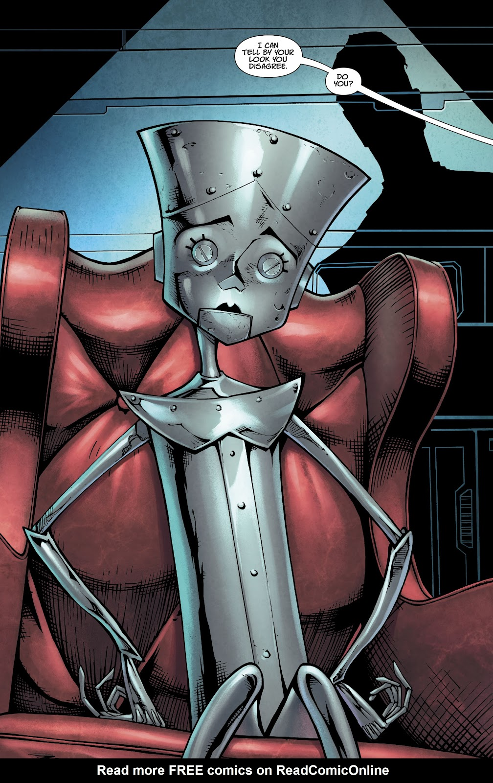 Read online Metal Men (2019) comic -  Issue #1 - 8