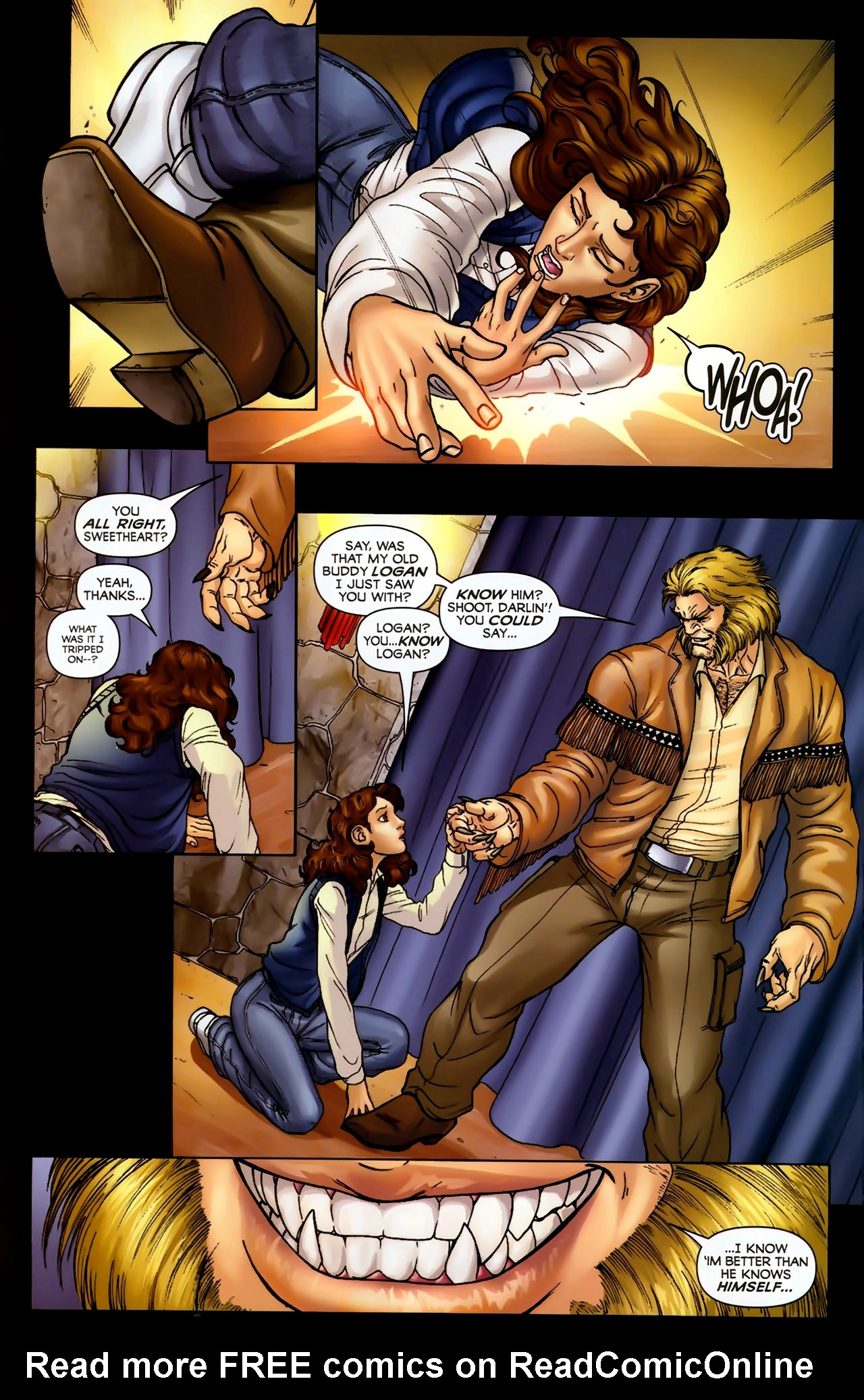 Read online Wolverine: First Class comic -  Issue #2 - 9