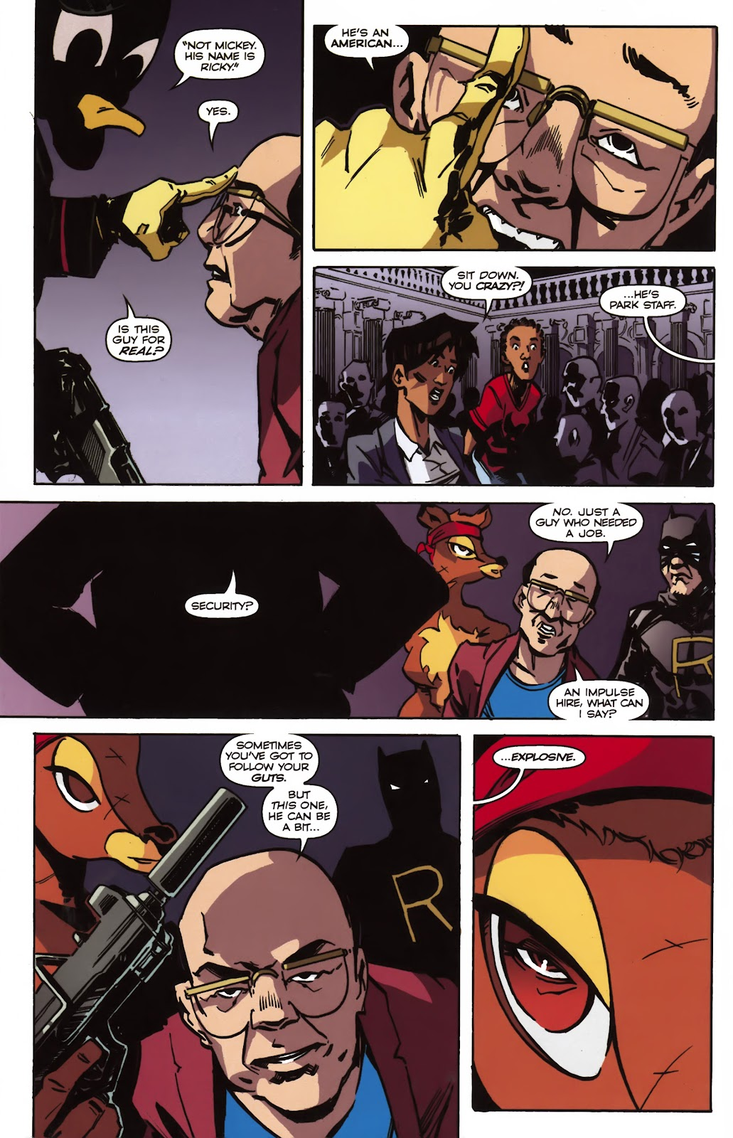 Read online Ricky Rouse Has A Gun comic -  Issue # TPB (Part 2) - 21
