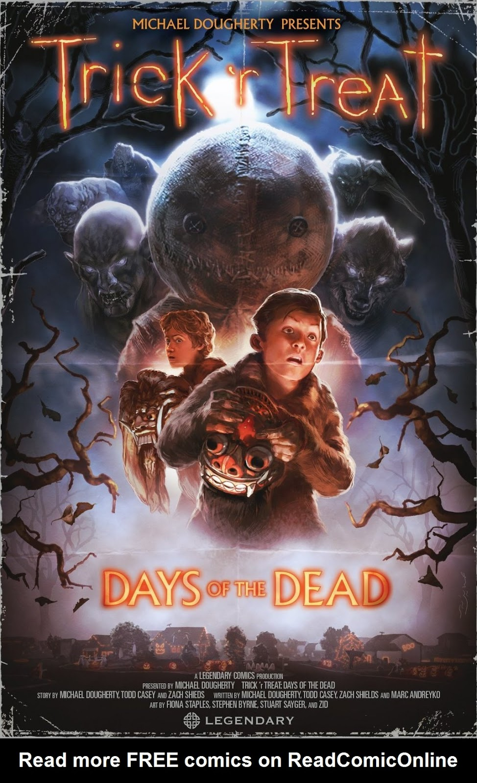 Read online Trick 'r Treat: Days of the Dead comic -  Issue # TPB - 1