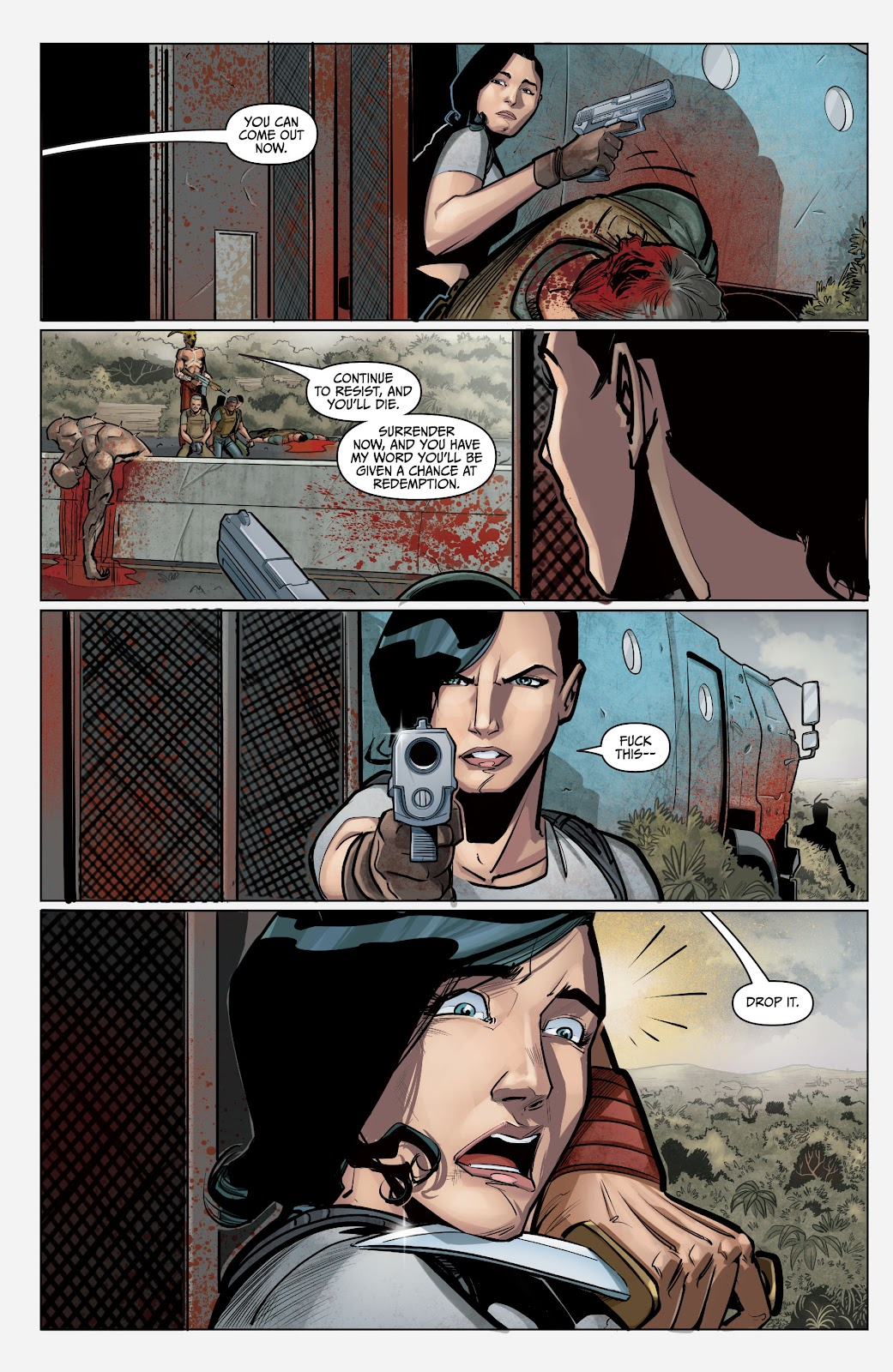 The Courier: Liberty & Death issue 2 - Page 5