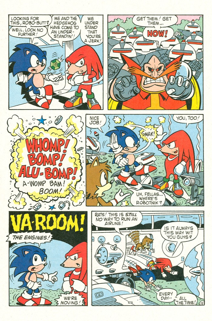 Read online Sonic Super Special comic -  Issue #3 - Sonic Firsts - 47