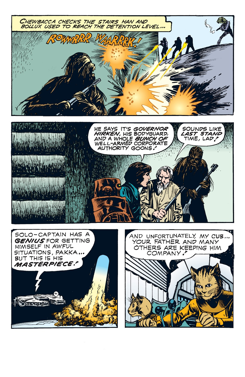 Read online Star Wars Legends: The Newspaper Strips - Epic Collection comic -  Issue # TPB (Part 4) - 67