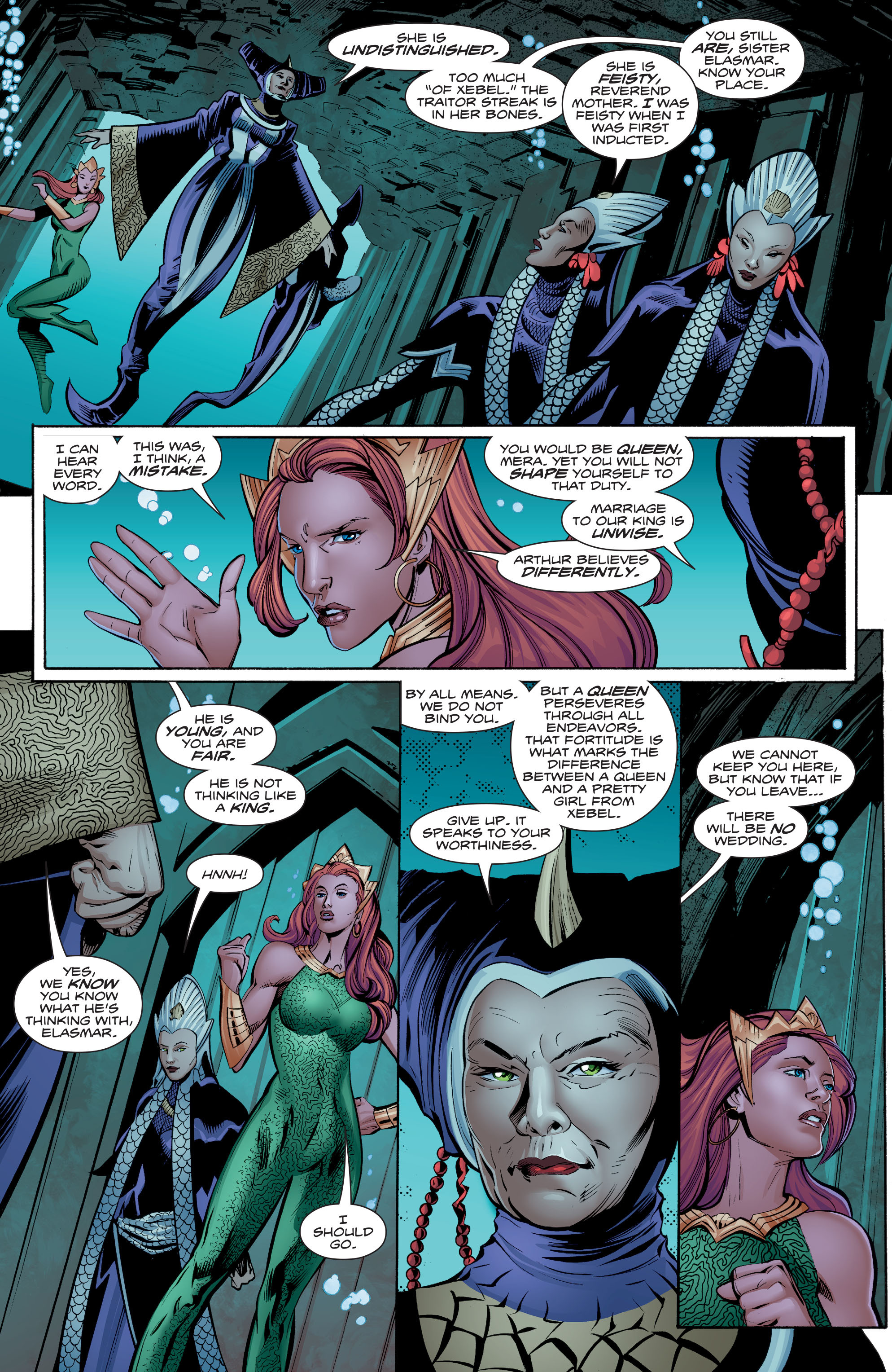 Read online Aquaman (2016) comic -  Issue #8 - 15