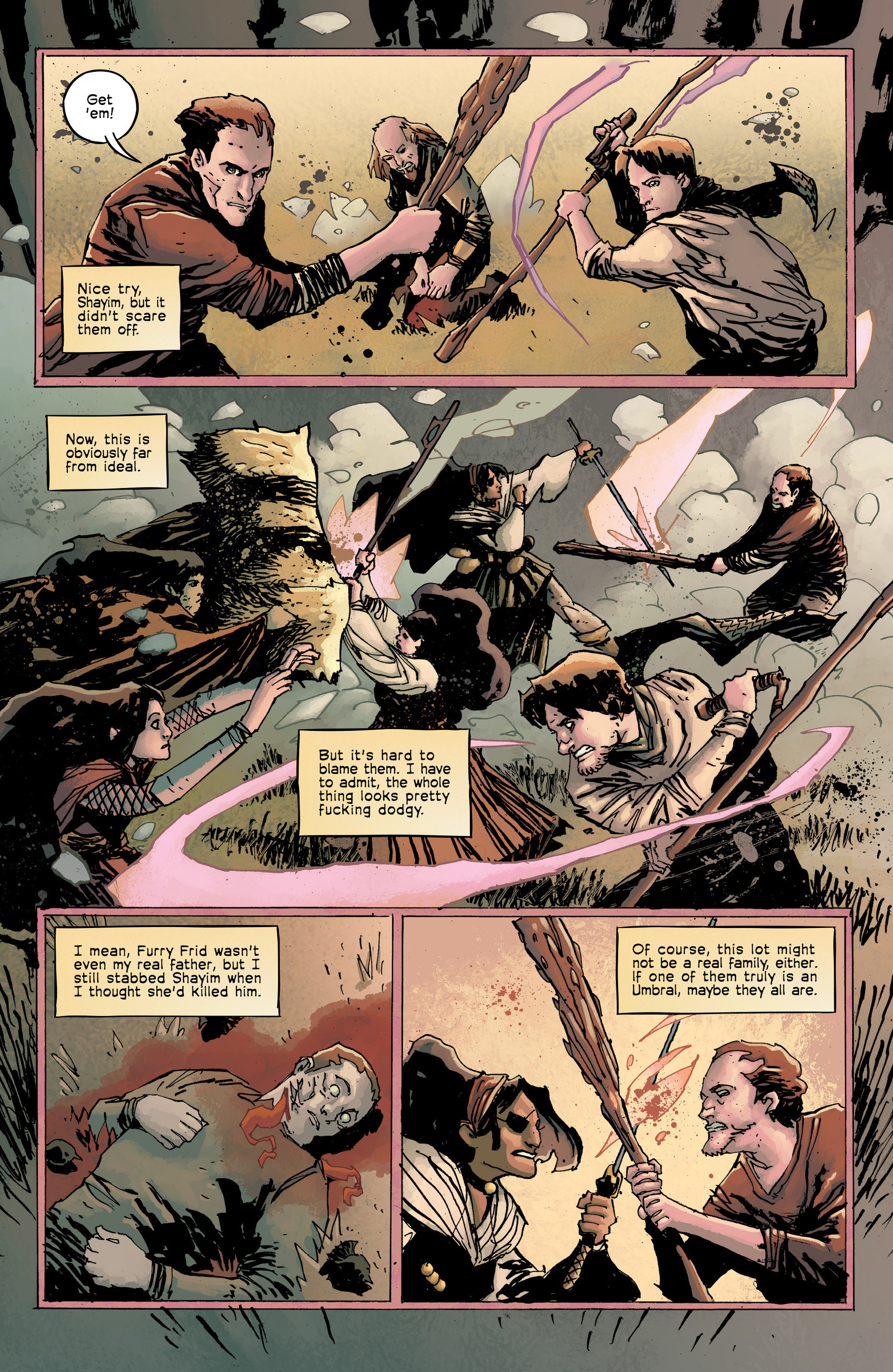 Read online Umbral comic -  Issue #8 - 4