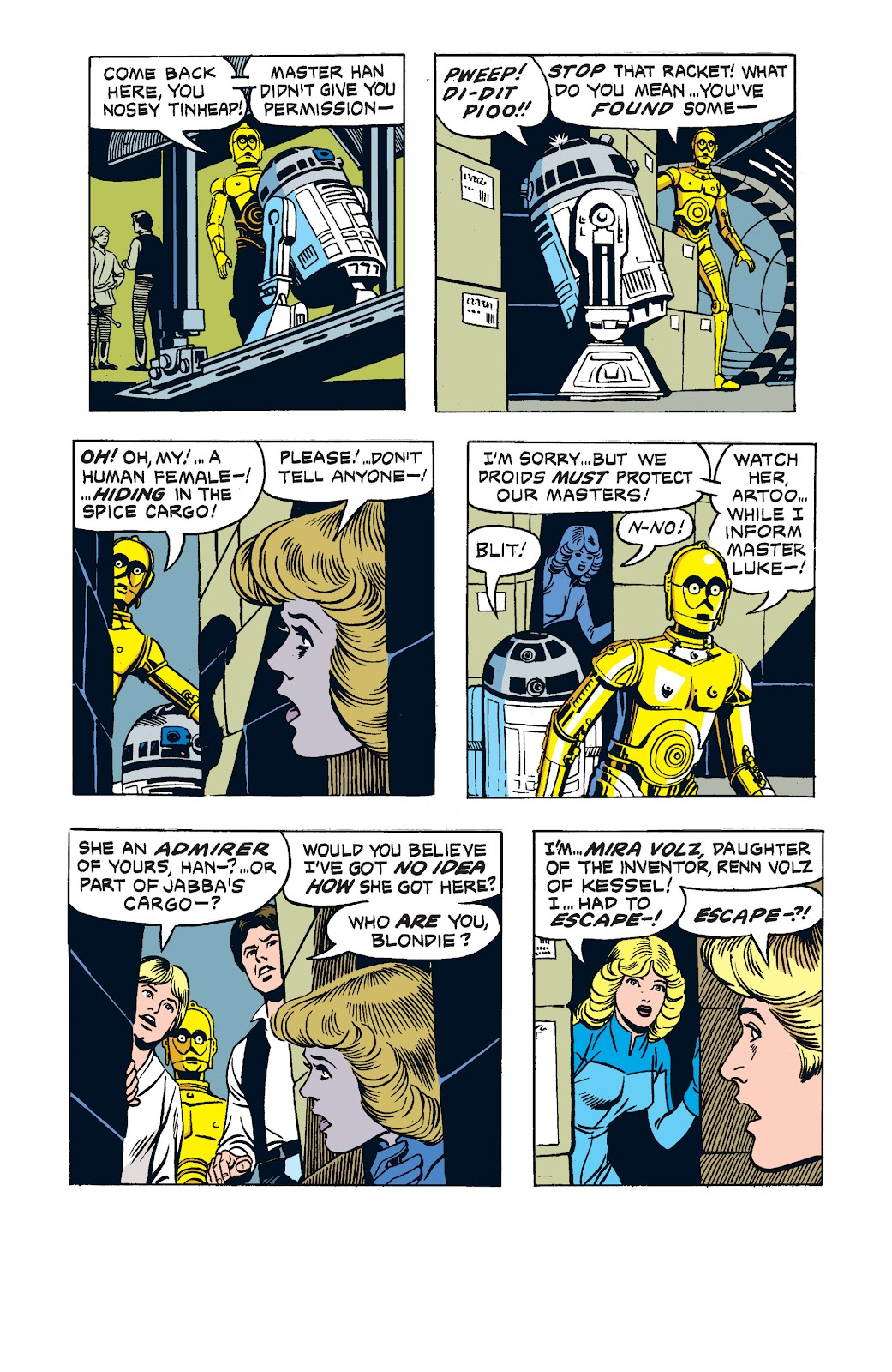 Read online Star Wars Legends: The Newspaper Strips - Epic Collection comic -  Issue # TPB (Part 2) - 80