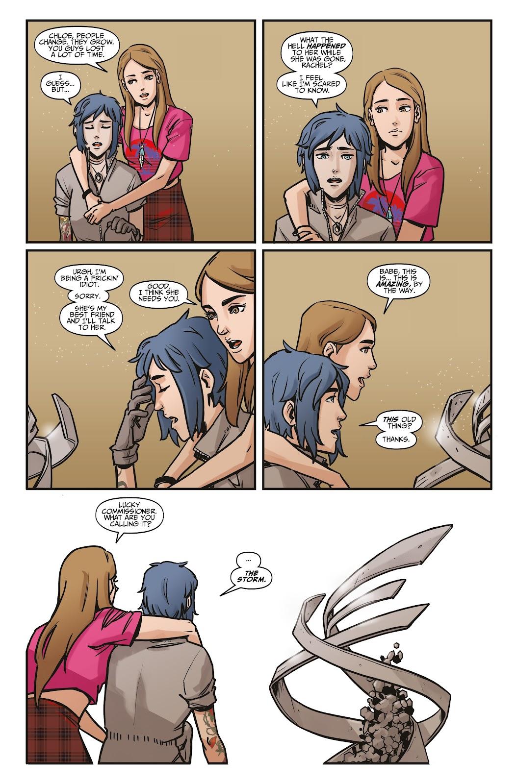 Read online Life is Strange comic -  Issue #6 - 21