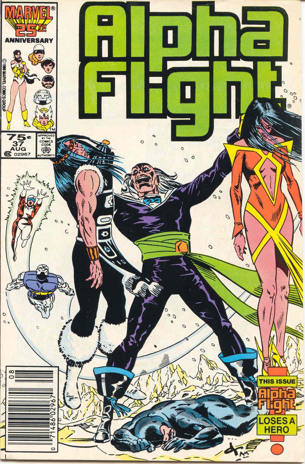Alpha Flight (1983) 37 Page 1