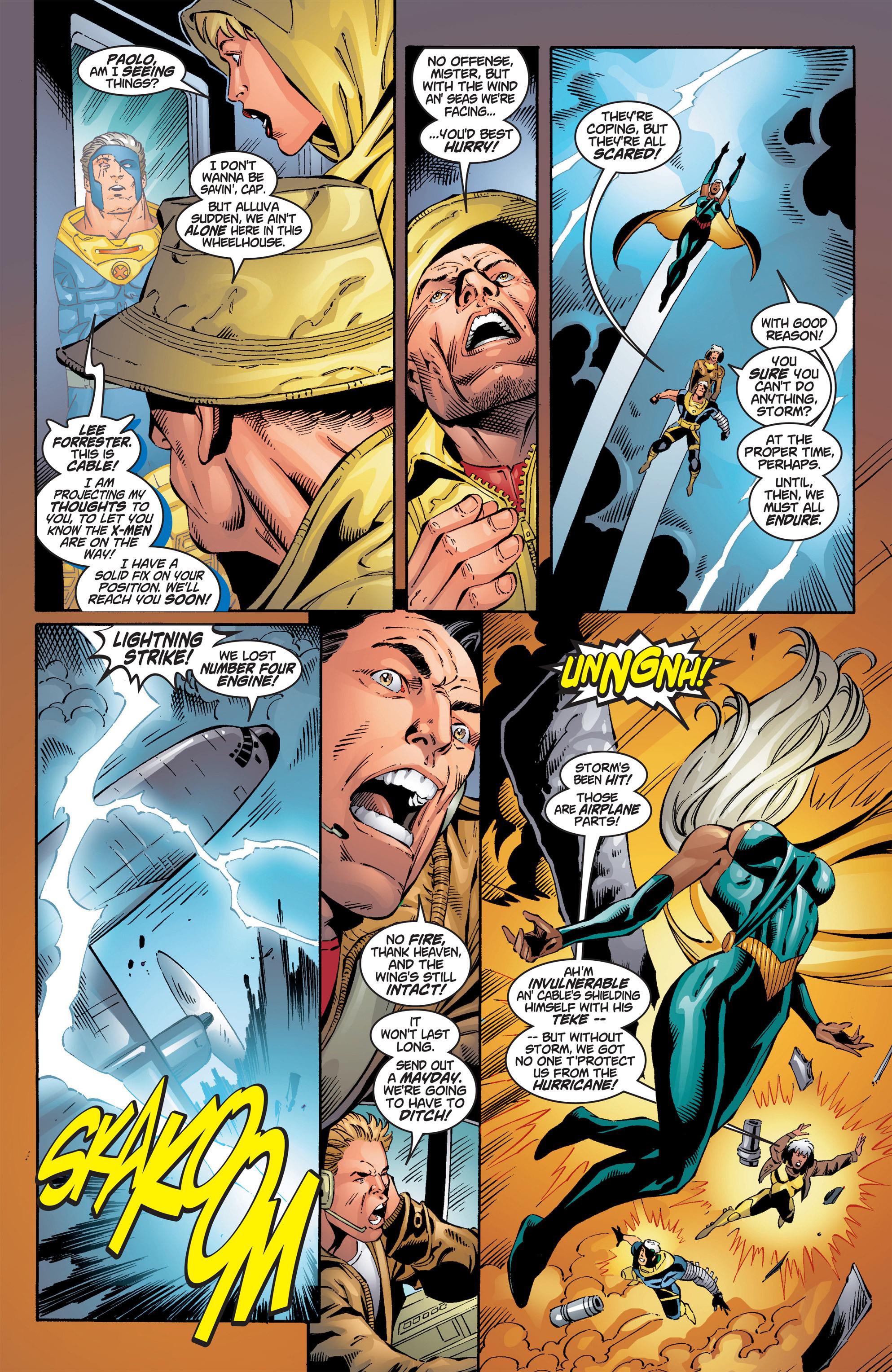 Read online Uncanny X-Men (1963) comic -  Issue #386 - 10
