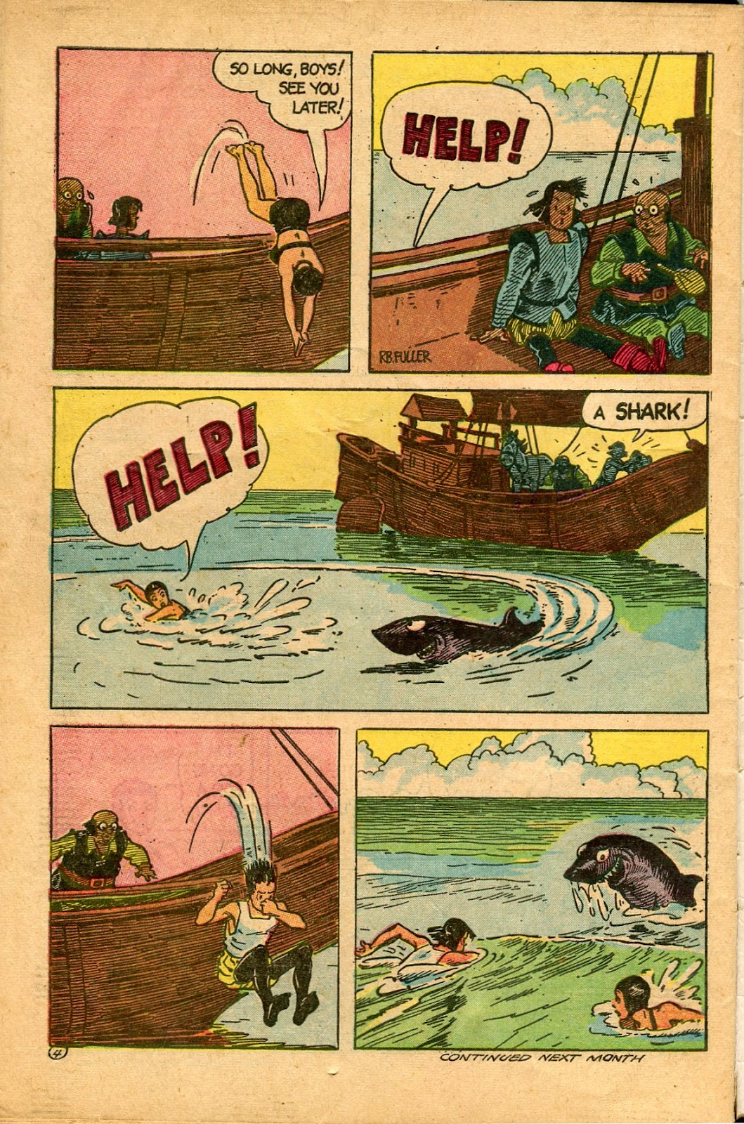Read online Famous Funnies comic -  Issue #136 - 34