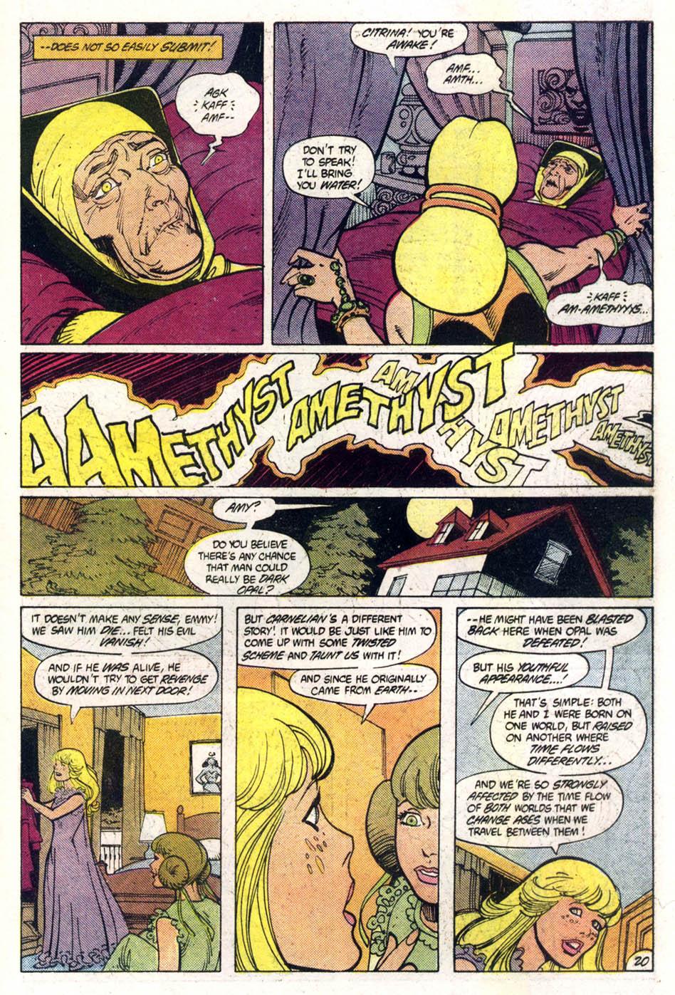 Read online Amethyst (1985) comic -  Issue #1 - 21