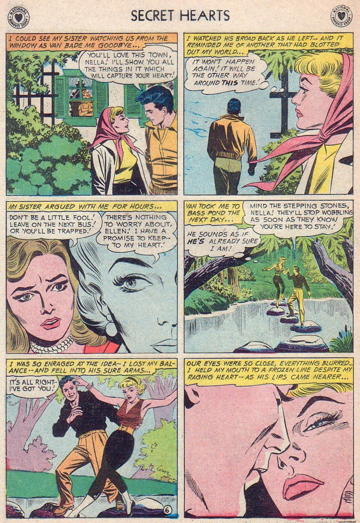 Read online Secret Hearts comic -  Issue #61 - 32