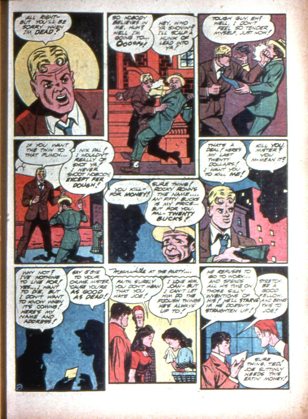 Read online Sensation (Mystery) Comics comic -  Issue #15 - 57