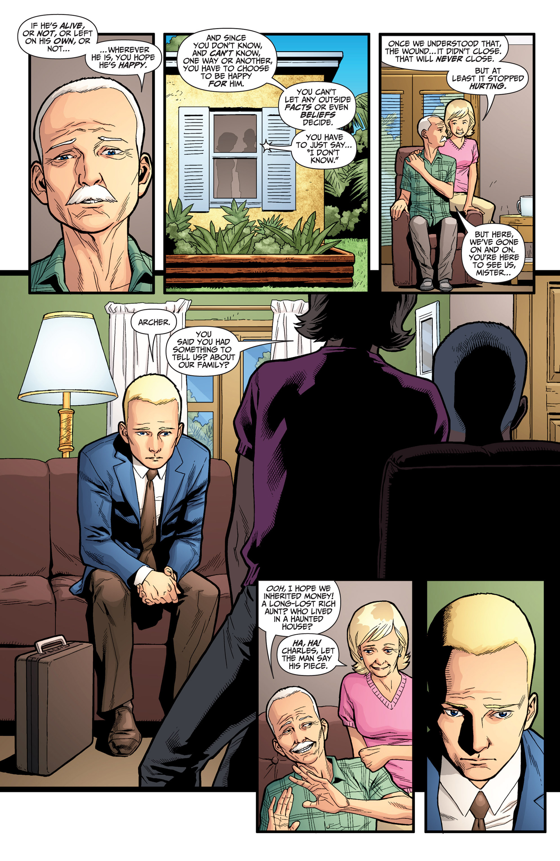 Read online Archer and Armstrong comic -  Issue #25 - 5