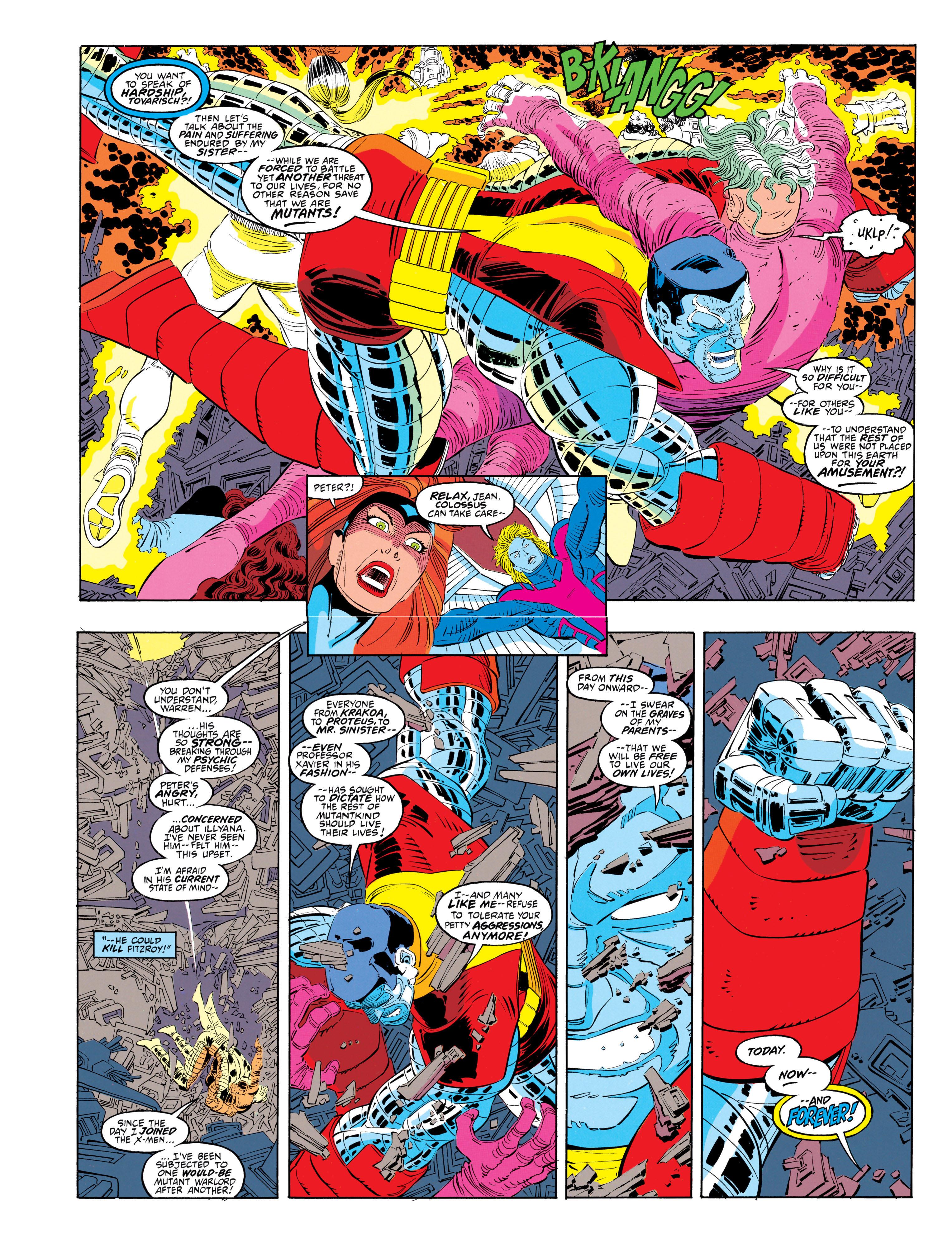 Read online Uncanny X-Men (1963) comic -  Issue #302 - 16