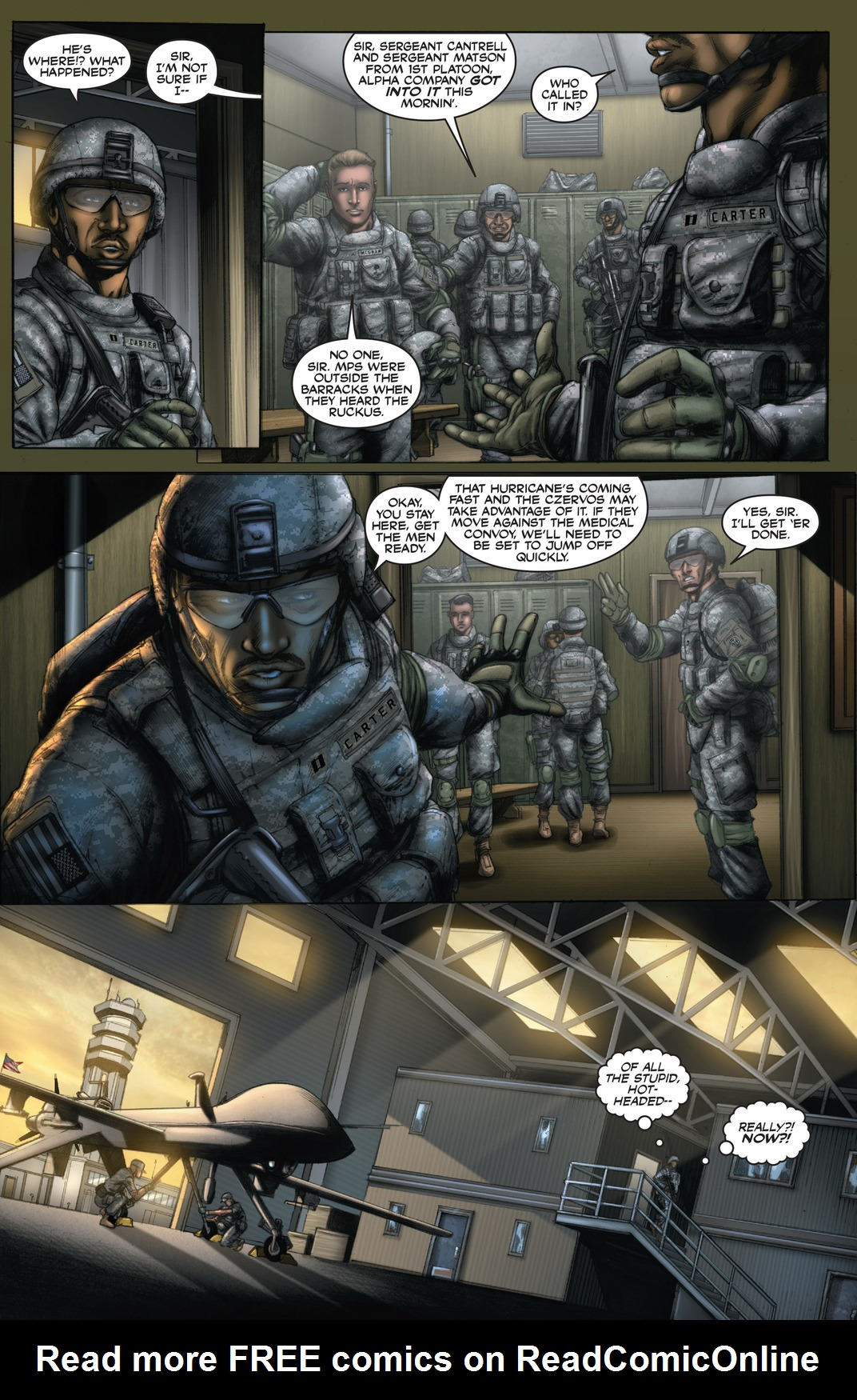 Read online America's Army comic -  Issue #13 - 4