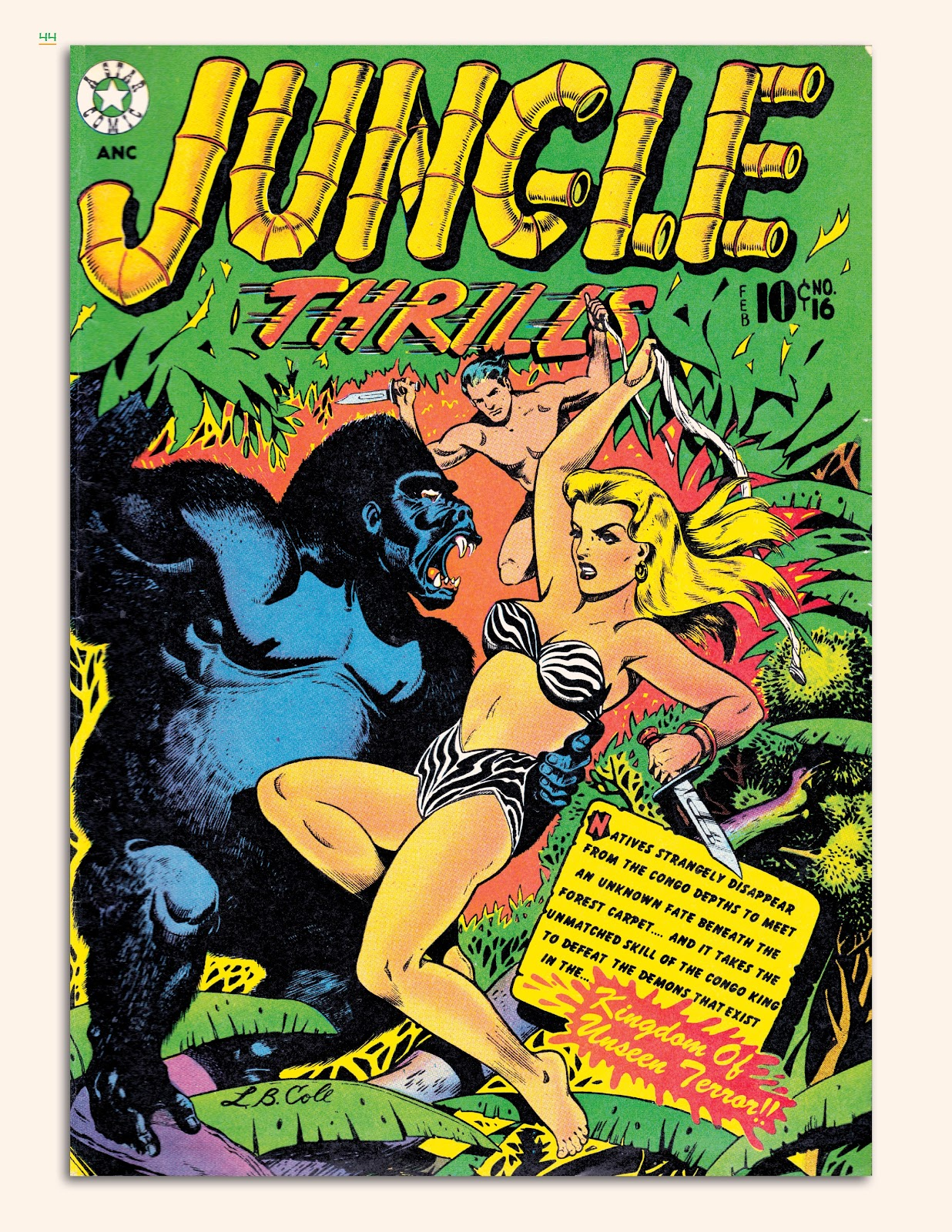 Read online Jungle Girls comic -  Issue # TPB (Part 1) - 45