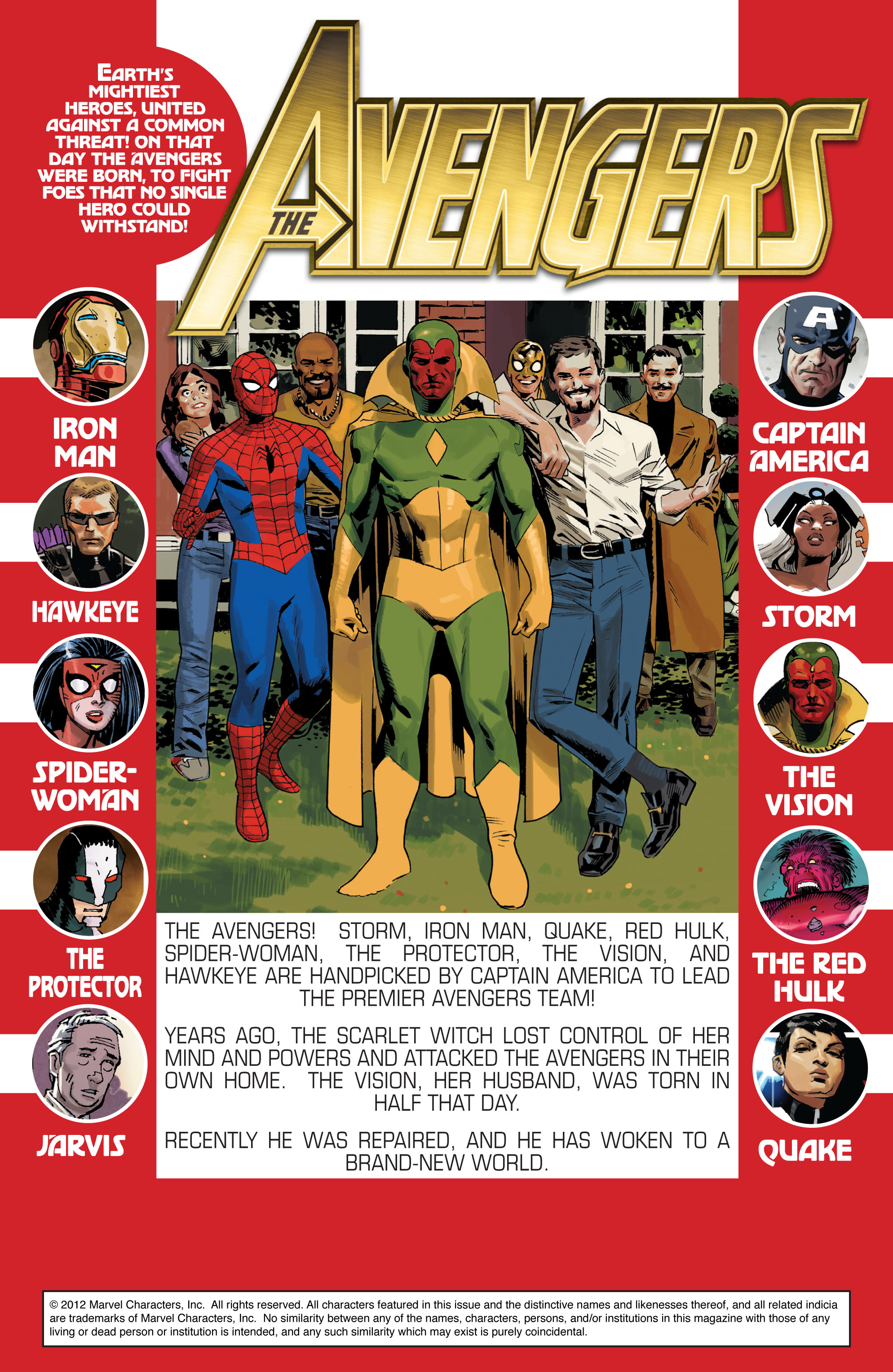 Read online Avengers (2010) comic -  Issue #24.1 - 2