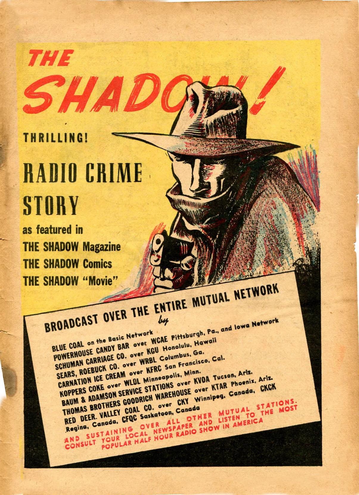 Read online Shadow Comics comic -  Issue #8 - 65