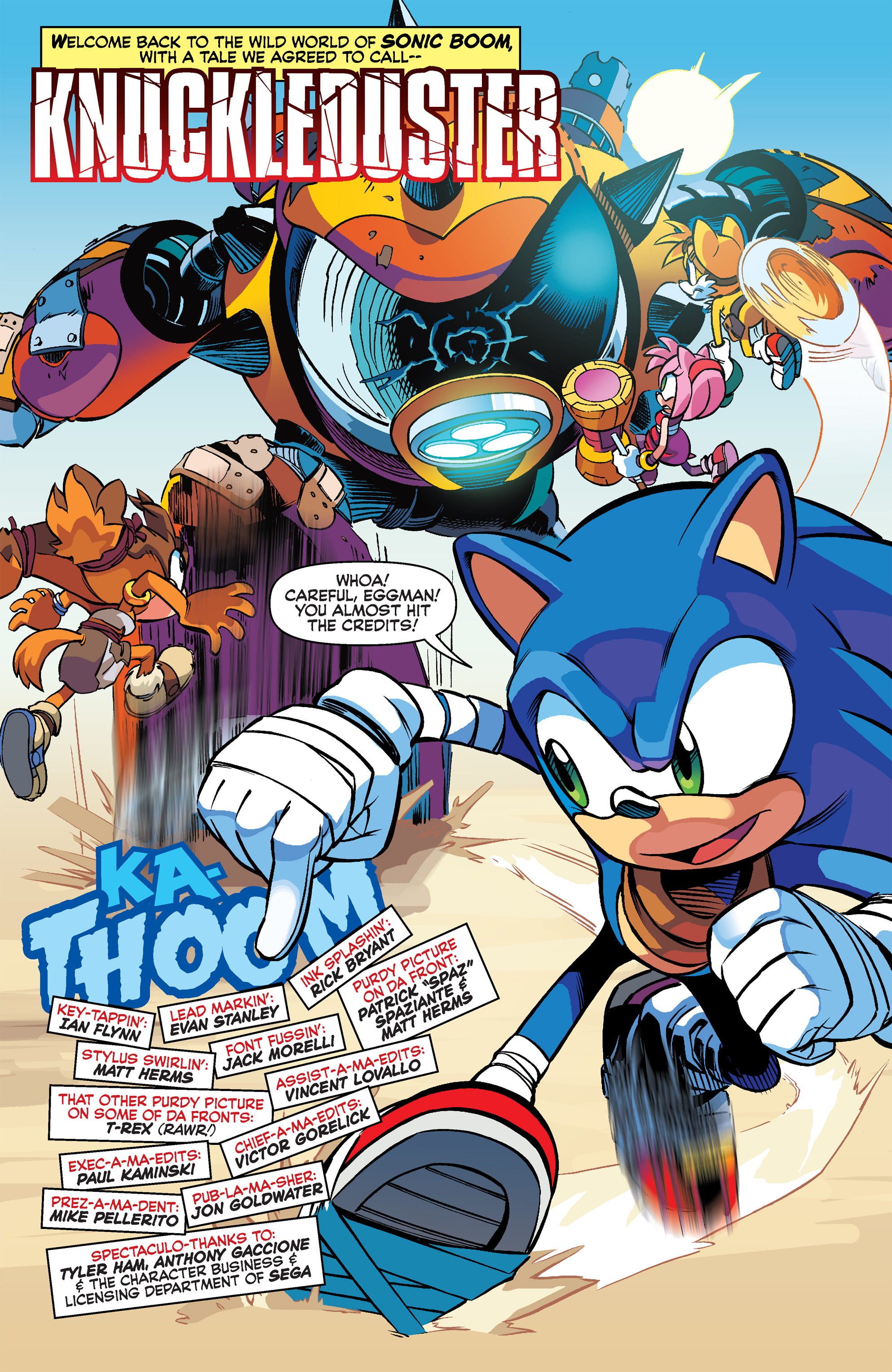 Read online Sonic Boom comic -  Issue #2 - 3