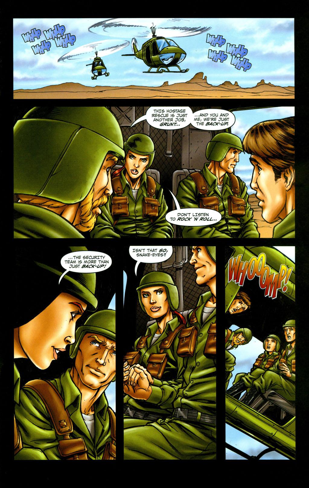 Read online Snake Eyes: Declassified comic -  Issue #6 - 11