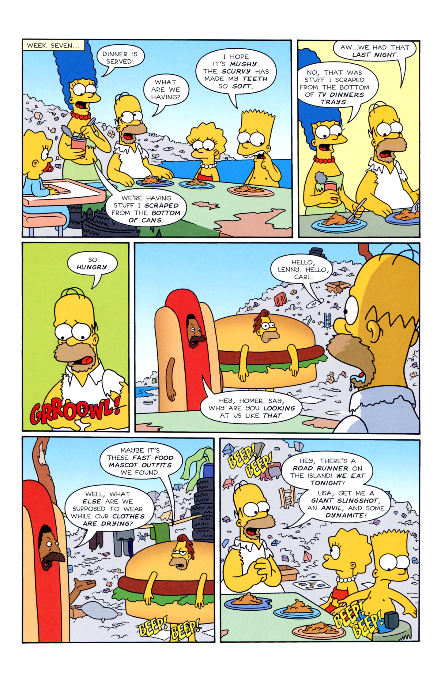 Read online Simpsons Illustrated (1991) comic -  Issue #3 - 17