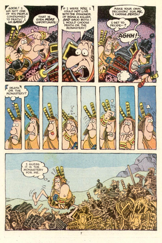Read online Sergio Aragonés Groo the Wanderer comic -  Issue #15 - 7