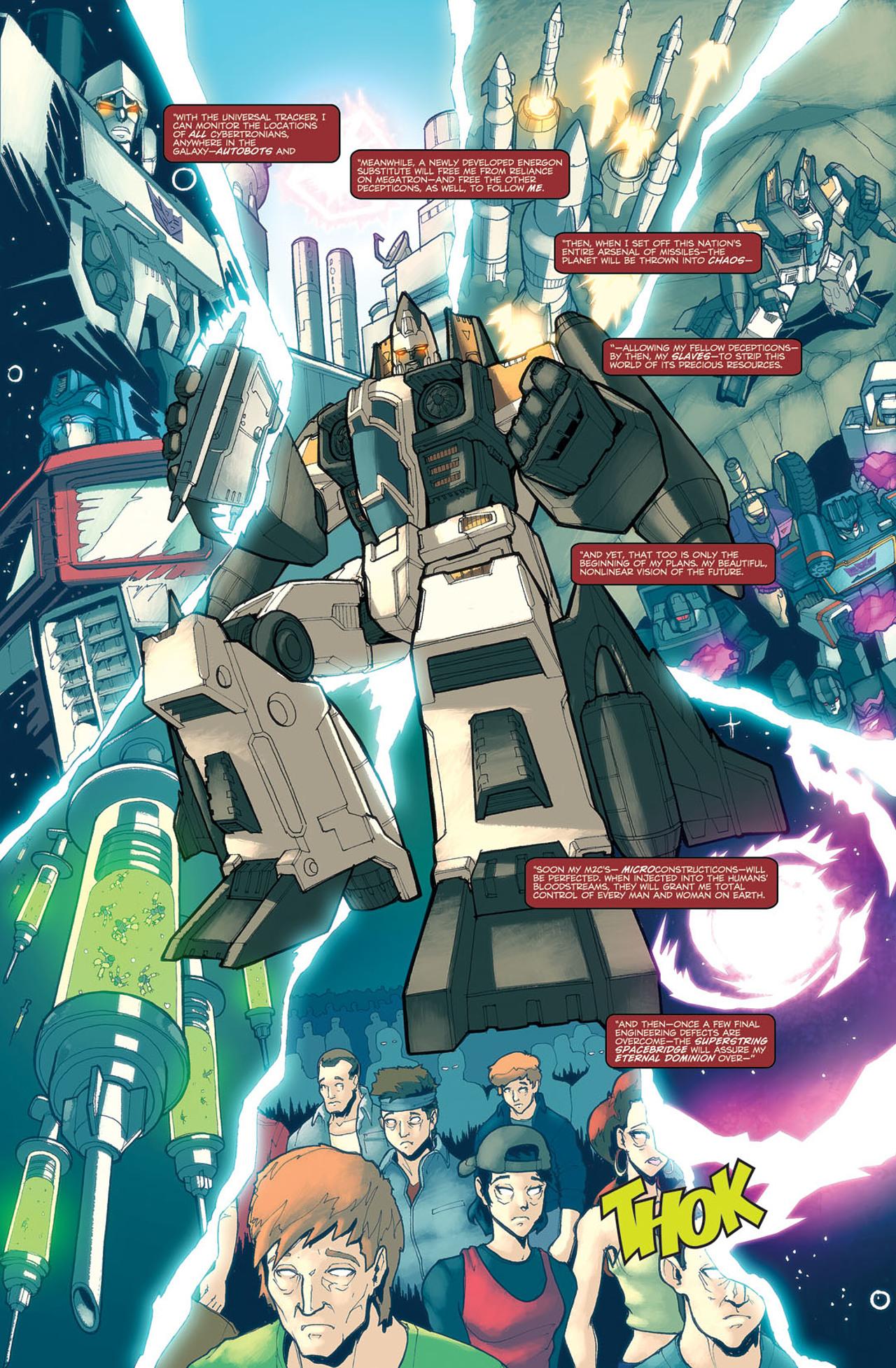 Read online Transformers Spotlight: Ramjet comic -  Issue # Full - 19