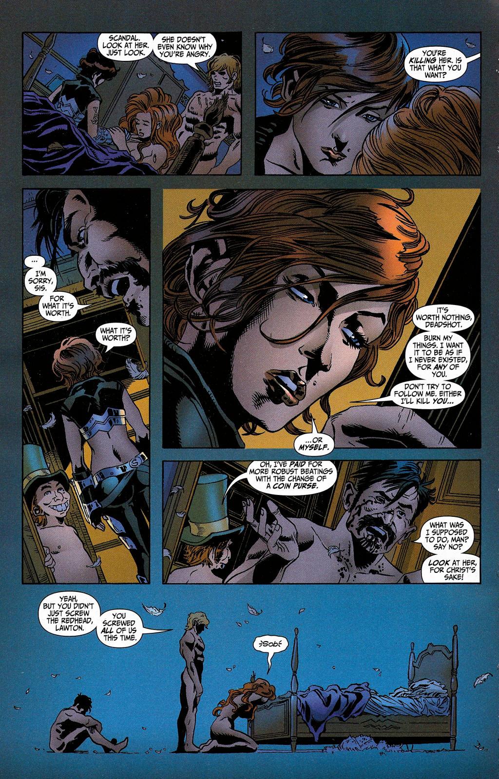 Read online Secret Six (2006) comic -  Issue #5 - 12