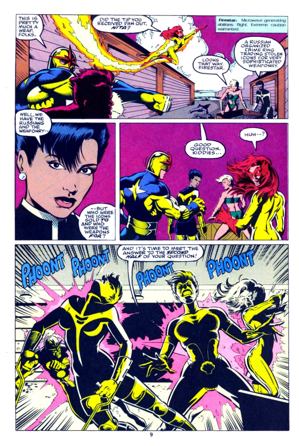 The New Warriors Issue #28 #32 - English 8