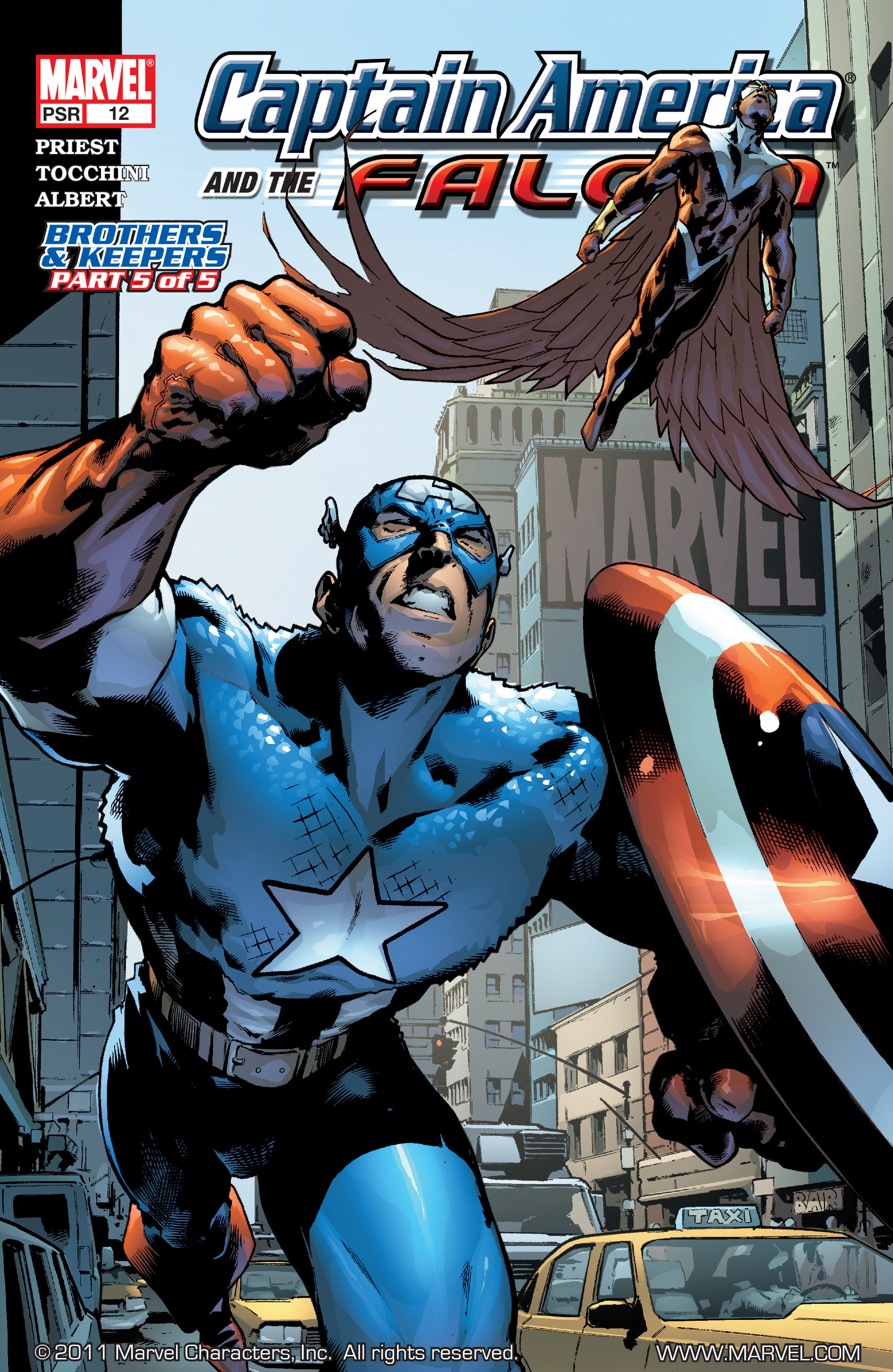 Captain America & the Falcon 12 Page 1
