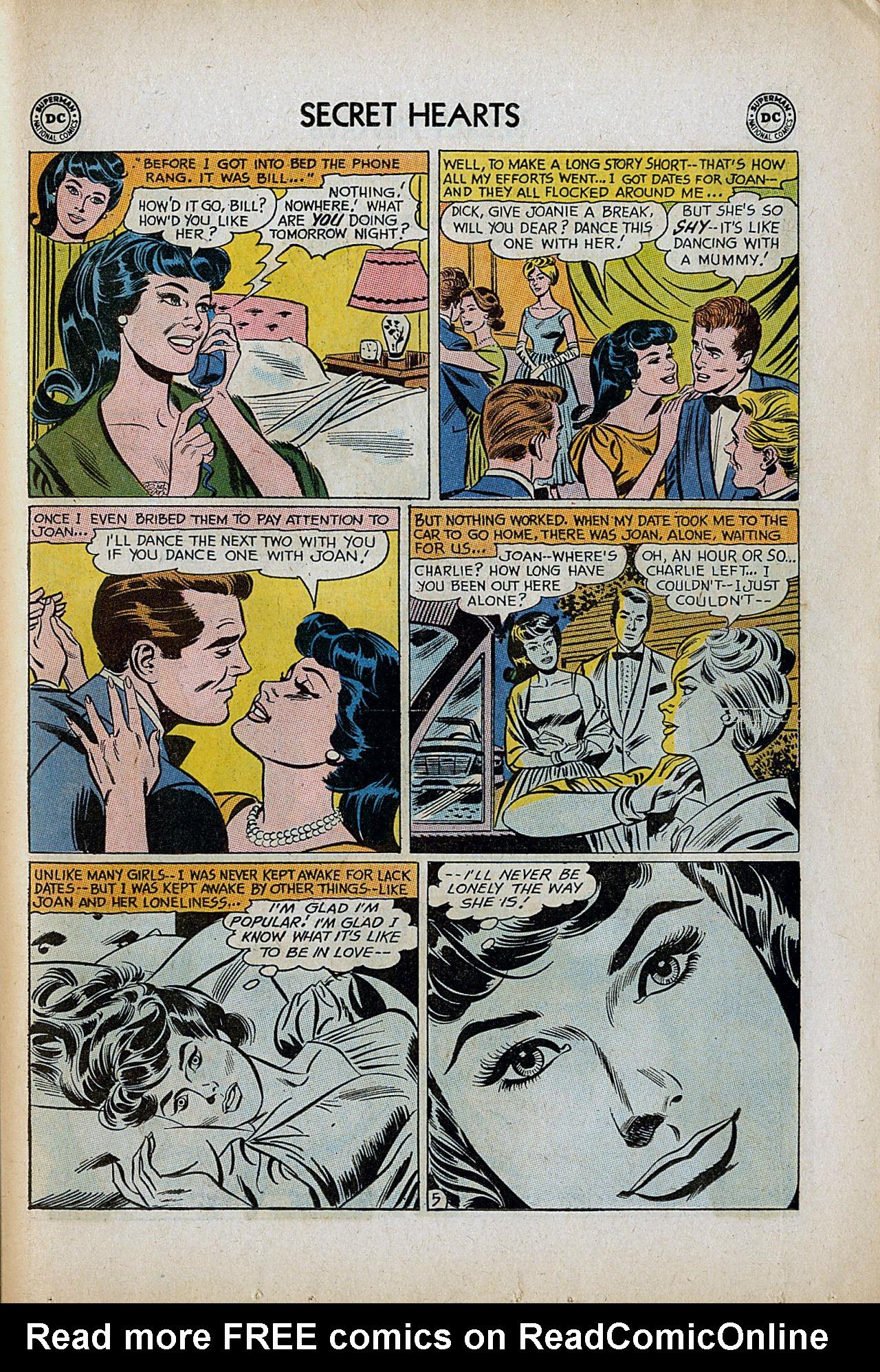 Read online Secret Hearts comic -  Issue #86 - 31