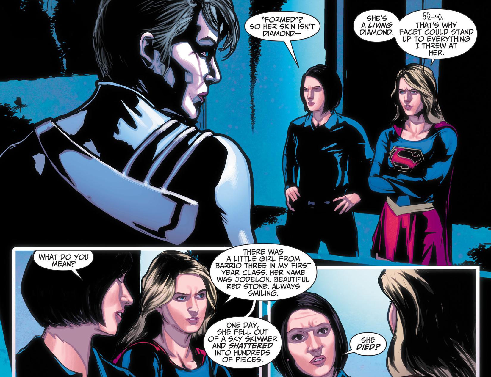 Read online Adventures of Supergirl comic -  Issue #10 - 9