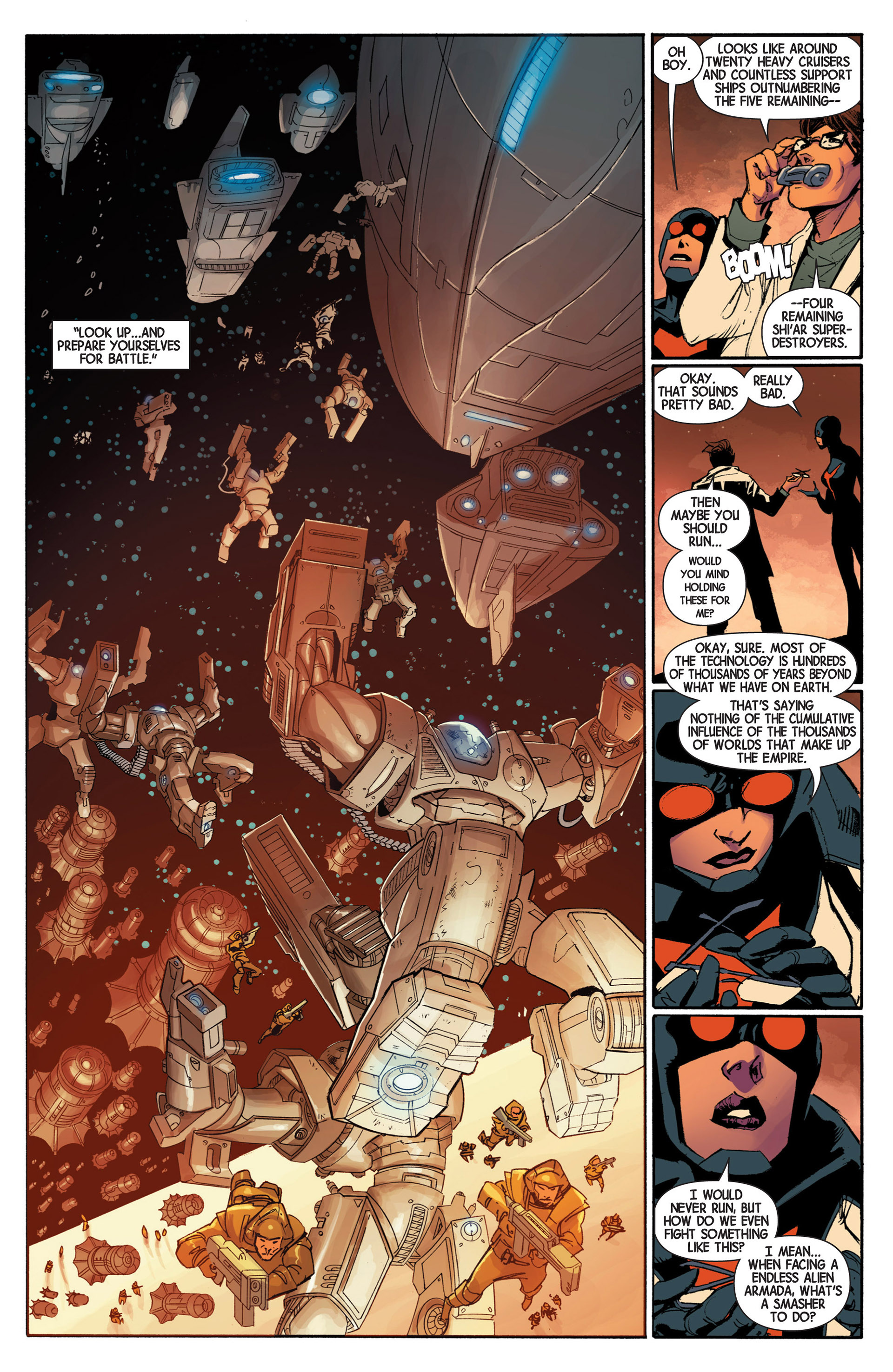 Read online Avengers (2013) comic -  Issue #5 - 15