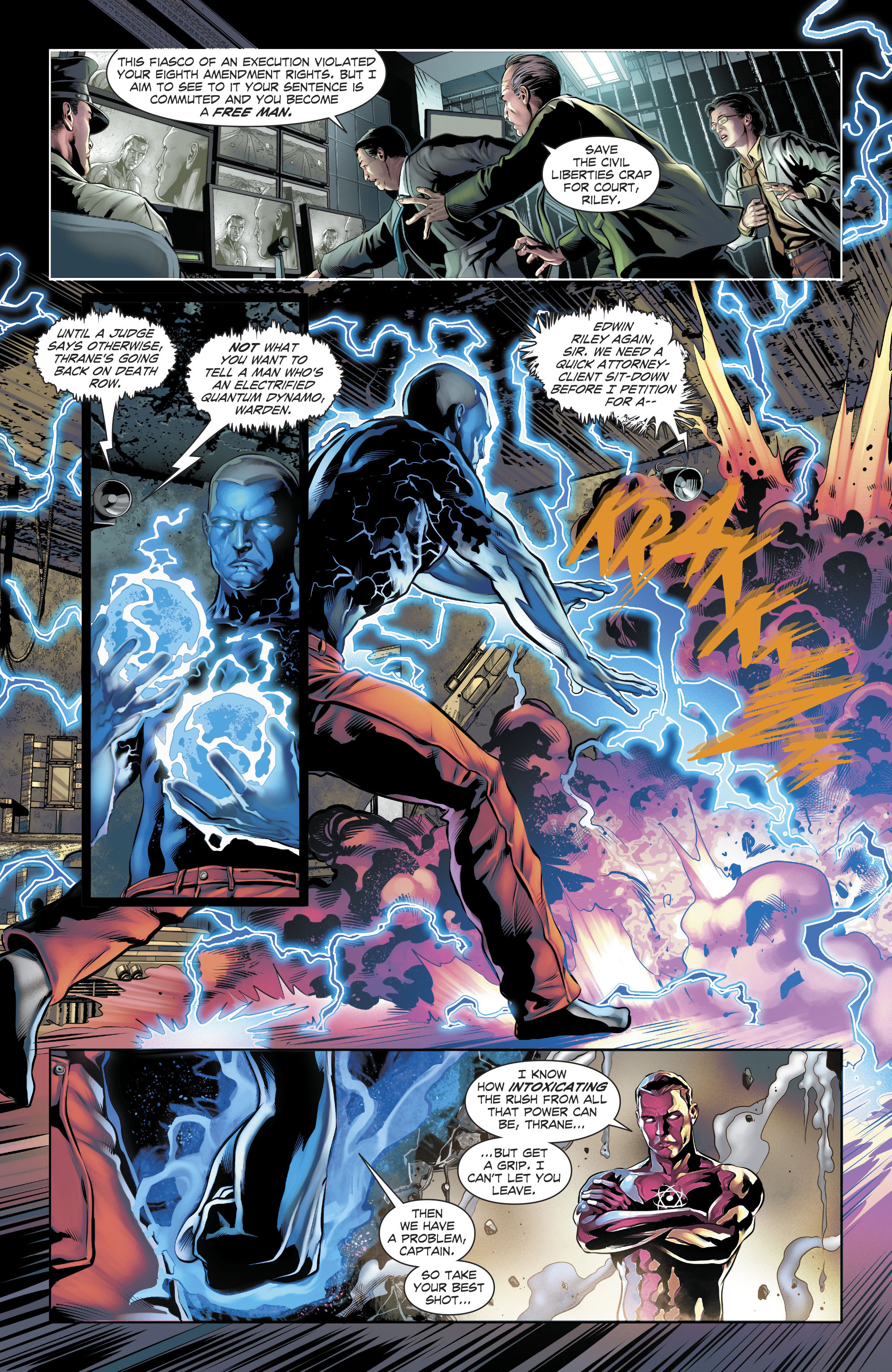 Read online The Fall and Rise of Captain Atom comic -  Issue #4 - 18
