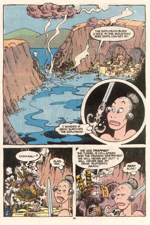 Read online Sergio Aragonés Groo the Wanderer comic -  Issue #50 - 39