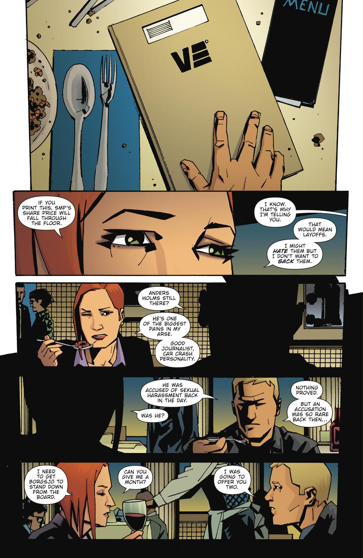 Read online The Girl Who Kicked The Hornet's Nest comic -  Issue # TPB - 168