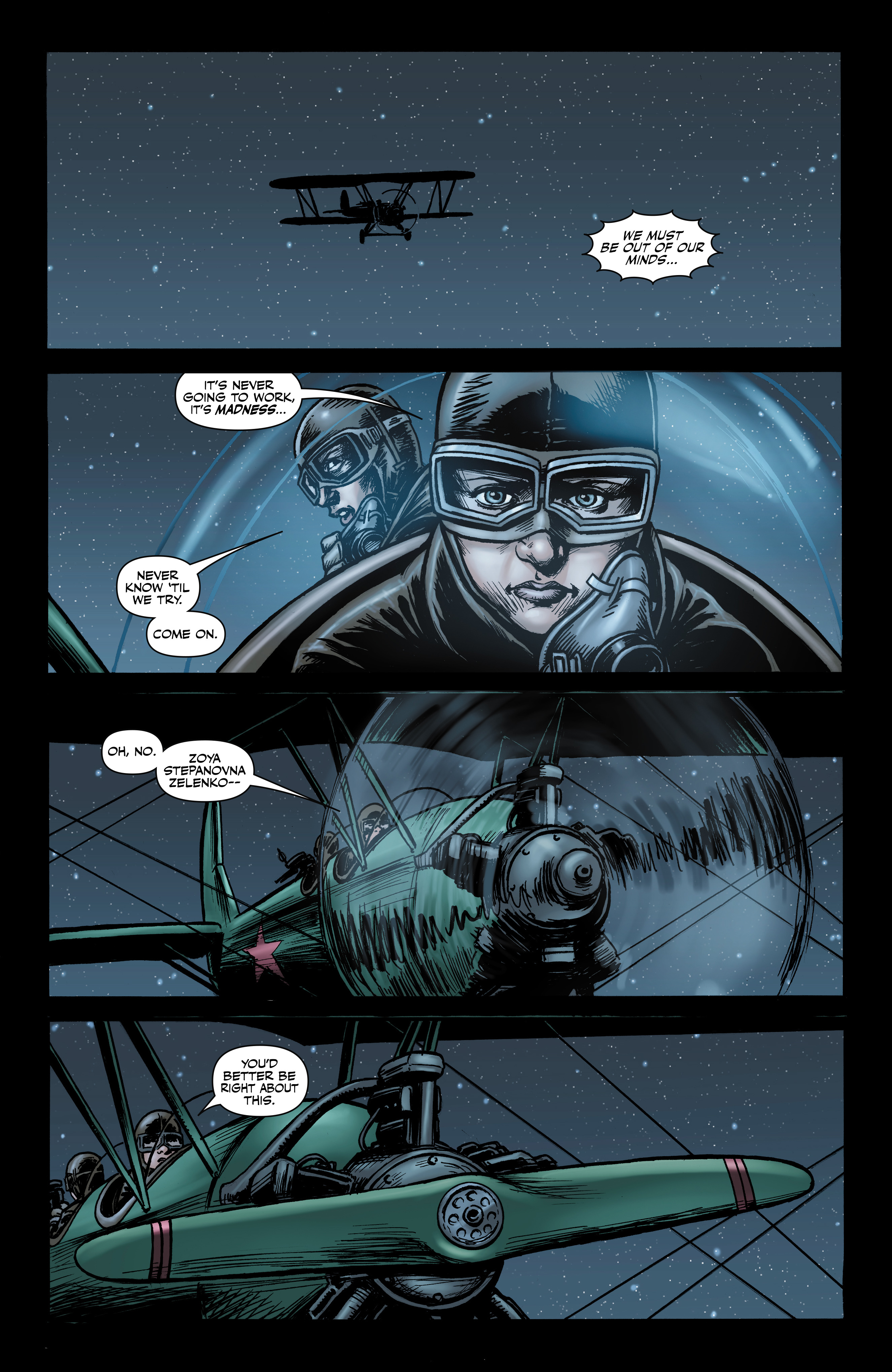 Read online Battlefields: Night Witches comic -  Issue # TPB - 28