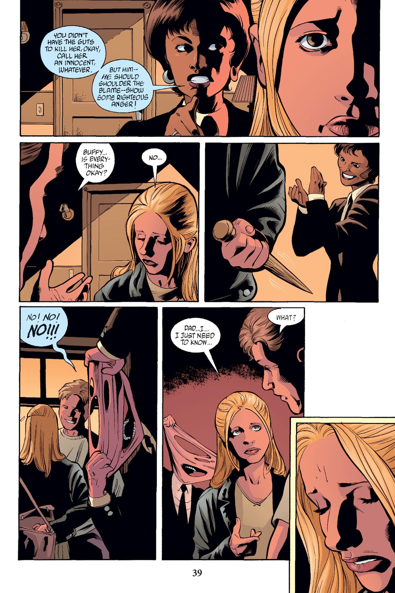 Read online Buffy the Vampire Slayer: Omnibus comic -  Issue # TPB 2 - 38