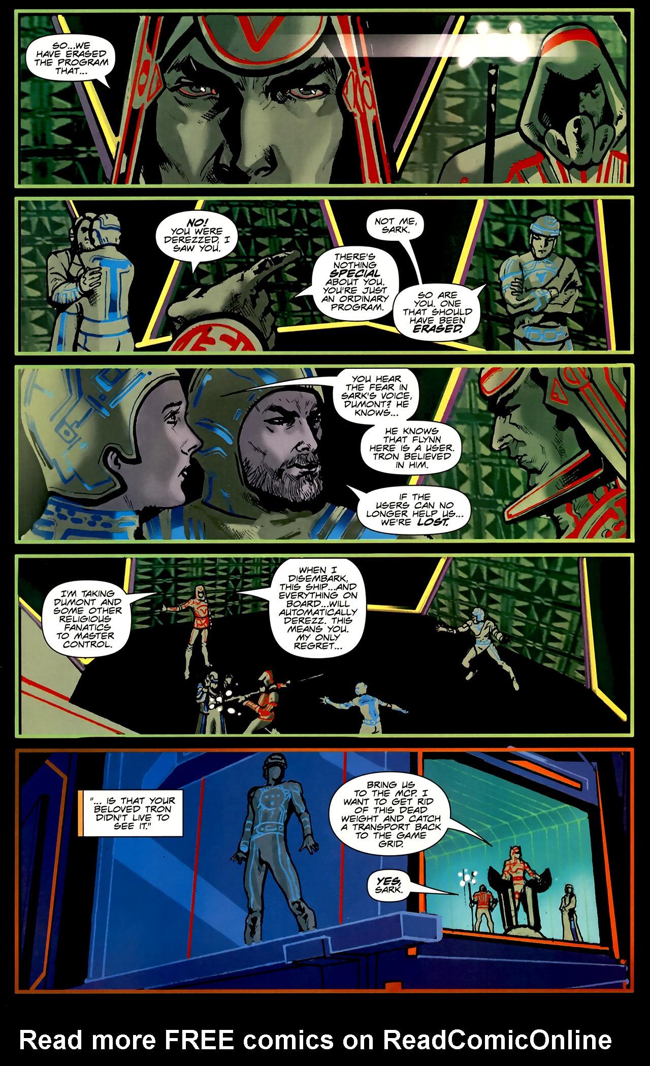 Read online TRON: Original Movie Adaptation comic -  Issue #2 - 24