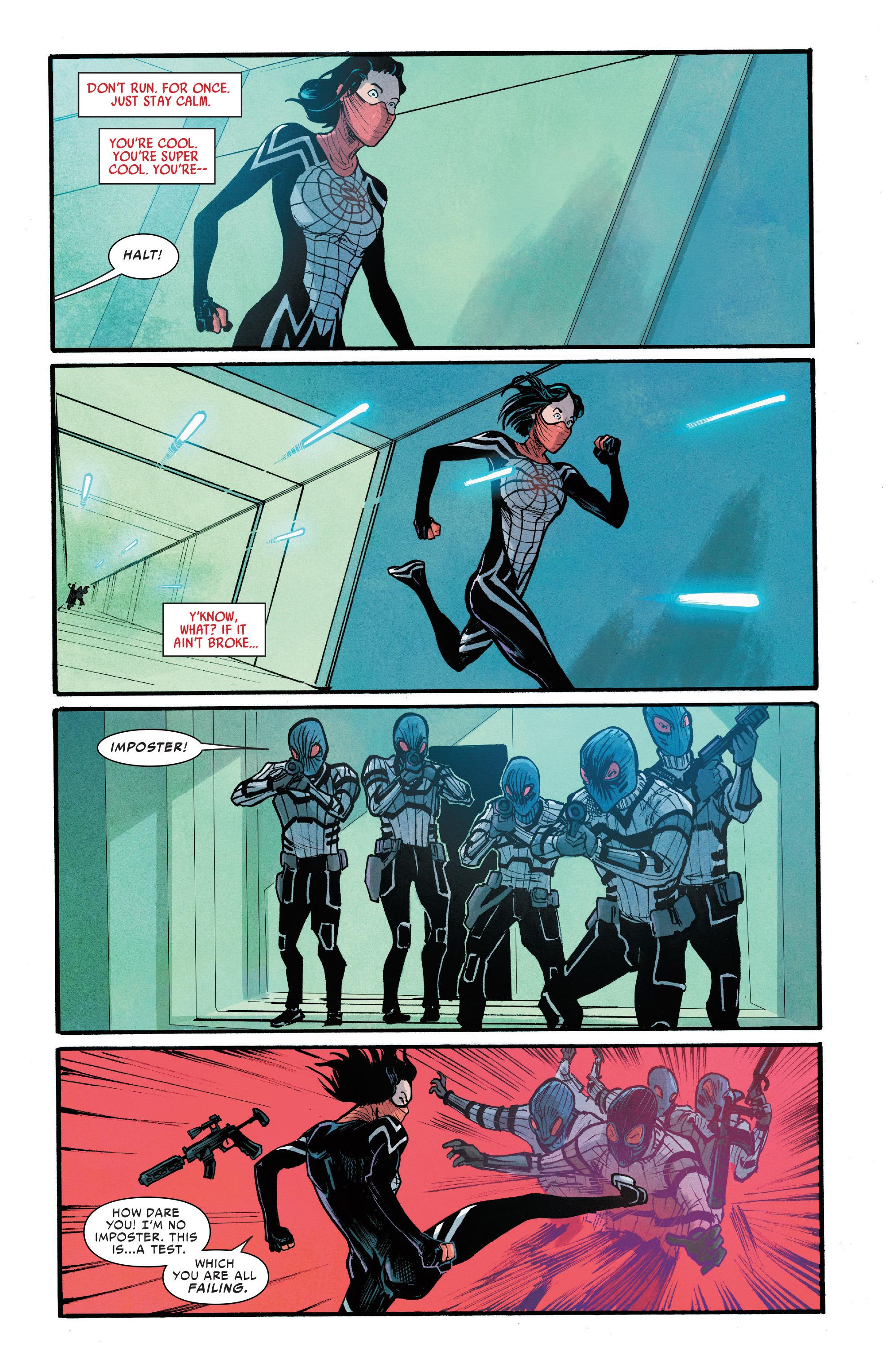 Read online Silk (2016) comic -  Issue #7 - 22