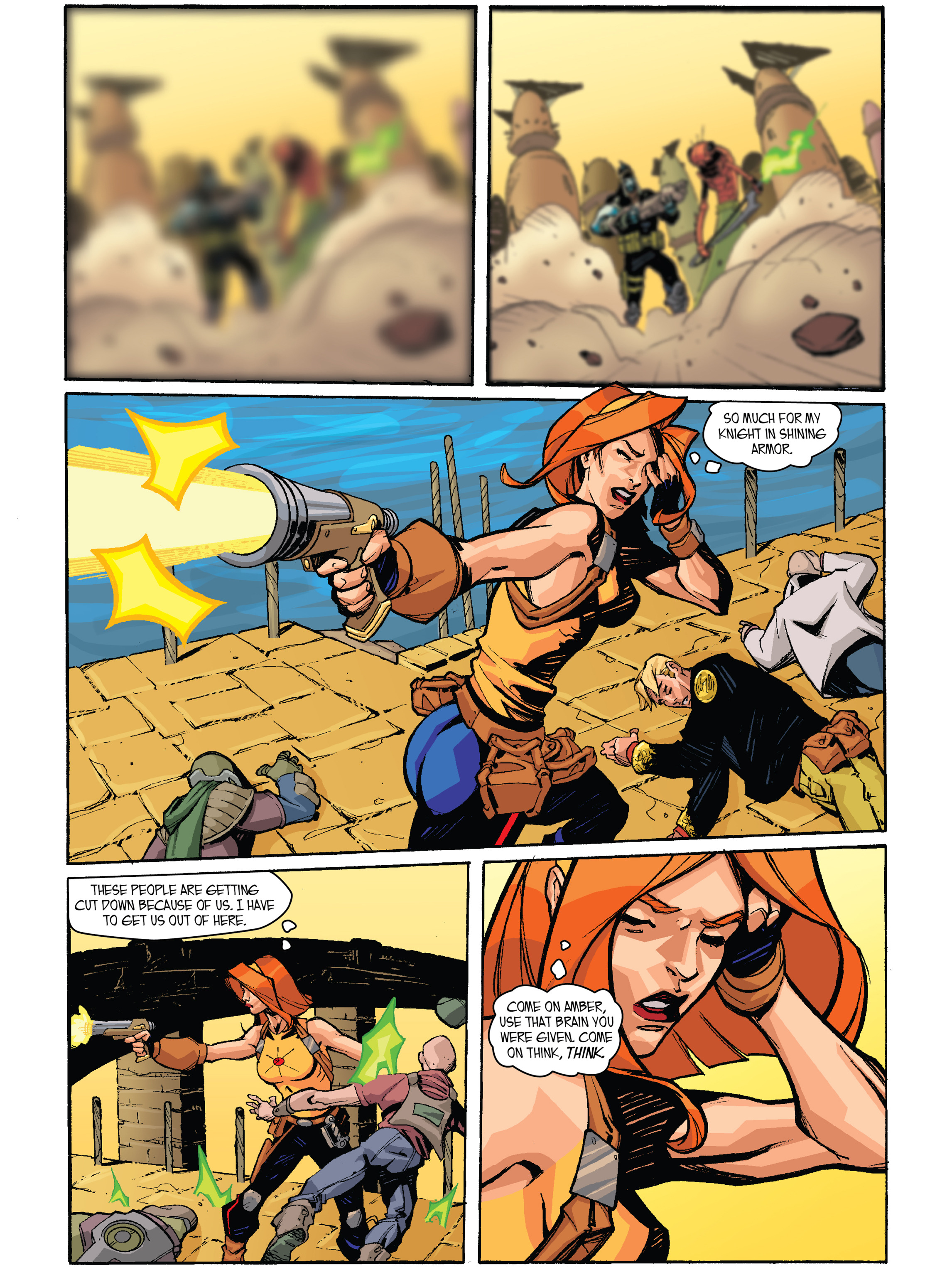 Read online Amber Atoms comic -  Issue #2 - 17