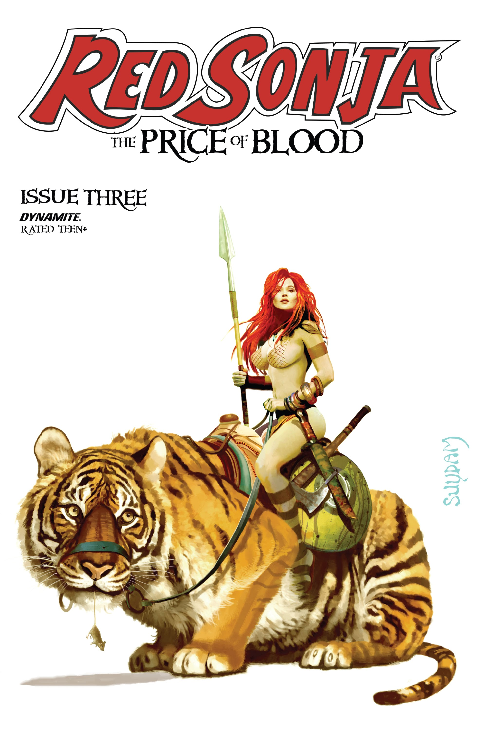 Red Sonja: The Price of Blood 3 Page 1