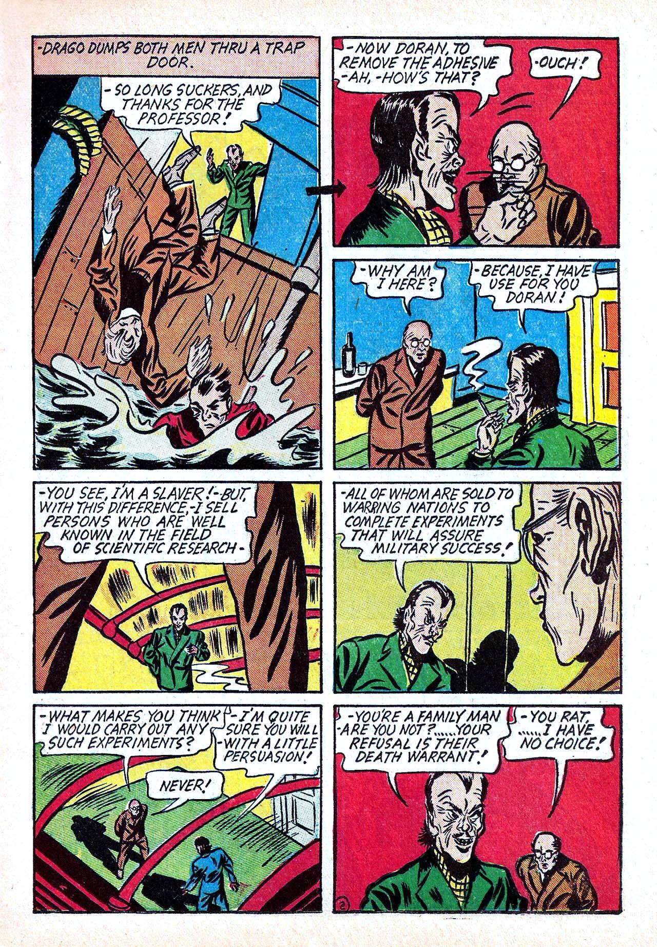 Read online Amazing Man Comics comic -  Issue #11 - 21