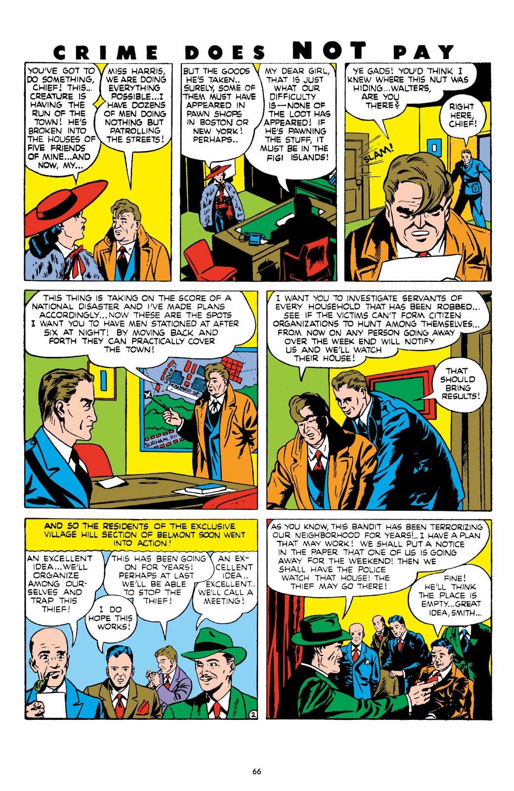 Read online Crime Does Not Pay Archives comic -  Issue # TPB 8 (Part 1) - 67